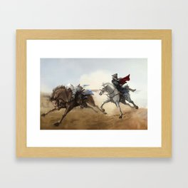 Look at your dad, now back to me Framed Art Print