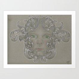 The Acorn Princess Art Print