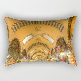 The Spice Bazaar Istanbul Rectangular Pillow