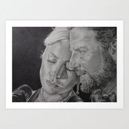 A Star is Born- Love Story Art Print