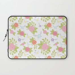 Garden of Fairies Pattern Laptop Sleeve