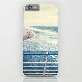 Beach at summer sunset iPhone Case