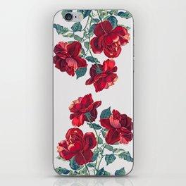 Red Roses iPhone Skin
