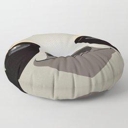 2D sloth Floor Pillow