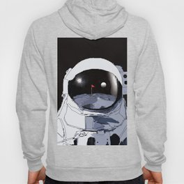 Astronaut Golf Course on the Moon Hoody