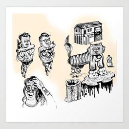 Fantasy Insurance Art Print