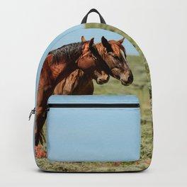 Wyoming Wild_Horses - II Backpack