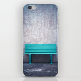 Green Bench iPhone Skin