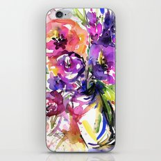 Floral Dance No. 5 by Kathy Morton Stanion iPhone & iPod Skin
