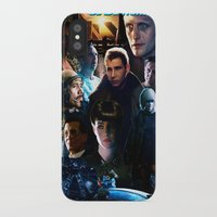 blade runner iPhone & iPod Cases featuring Blade Runner by Saint Genesis