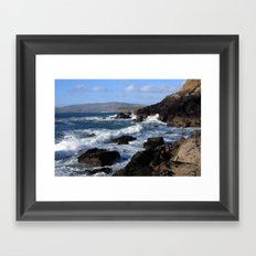 Atlantic Coast Framed Art Print