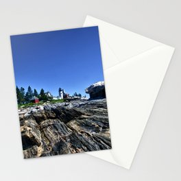 Pemaquid Light in Maine Stationery Cards