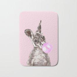Bubble Gum Baby Kangaroo Bath Mat