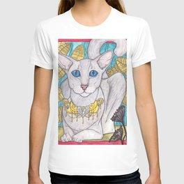Oriental short hair cat T-shirt
