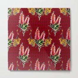 Australian Native Flowers - A fashion pattern Metal Print