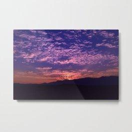 SW Mountain Sunrise - II Metal Print