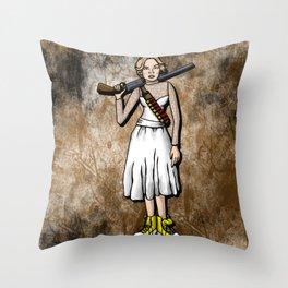 Grace Le Domas Throw Pillow