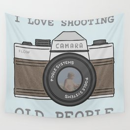 Shooting People Wall Tapestry