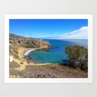 California Cliffs Art Print