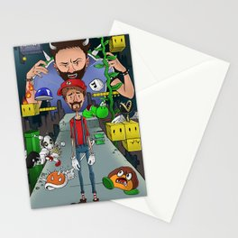 Mario Maker World Championships Stationery Cards