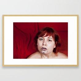Glitter Cum Shot #1 Framed Art Print