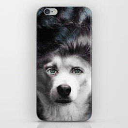 HUMAN DOG iPhone Skin