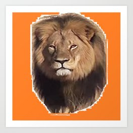 Cecil the Great Art Print