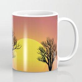 Creepy Sunset Coffee Mug