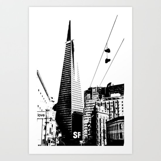 Love San Francisco Art Print