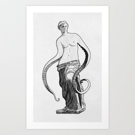 Who Knows? (Tentacles) Art Print