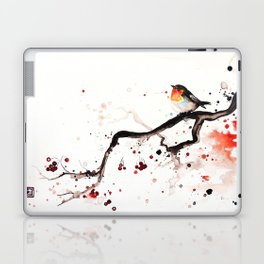 "The tiny wings ""The robin"" Laptop & iPad Skin"