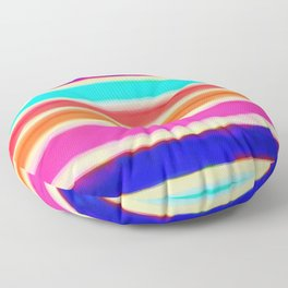 Rainbow Bomb Floor Pillow