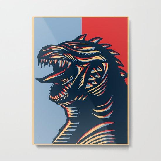 Zillagodzilla Metal Print