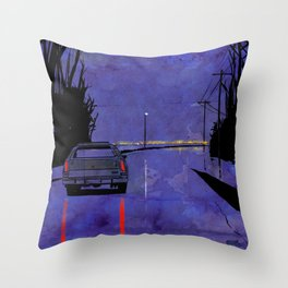 Nightscape 02 Throw Pillow