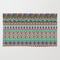 ethnic Area & Throw Rugs featuring  Ethnic  by moniquilla