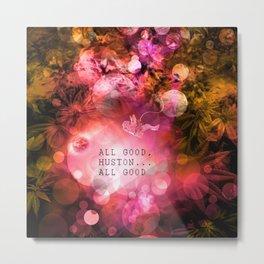 Pink Space Metal Print