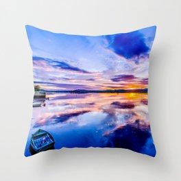 Newburgh Sunset Throw Pillow