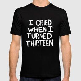 THIRTEEN. T-shirt