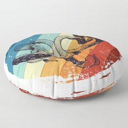 Retro Octopus Floor Pillow