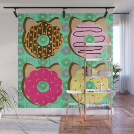 Dough Cats Wall Mural