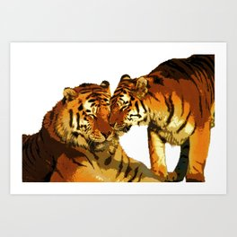 Love Cats Art Print