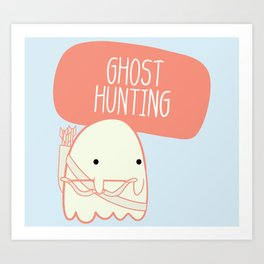 Ghost Hunting Art Print