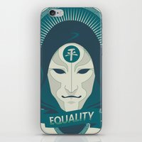 equality iPhone & iPod Skins featuring EQUALITY by Akiwa