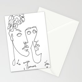 Jean Cocteau Homme  Stationery Cards