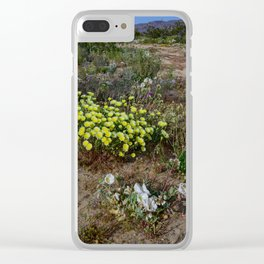 Painted_Desert 7271 - Johnson_Valley, California Clear iPhone Case