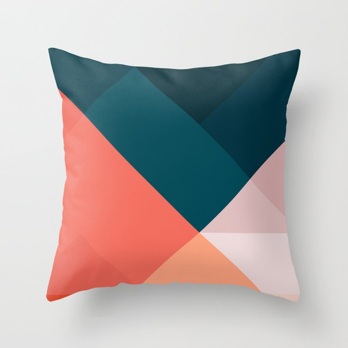 fashion forward throw pillow for college girls