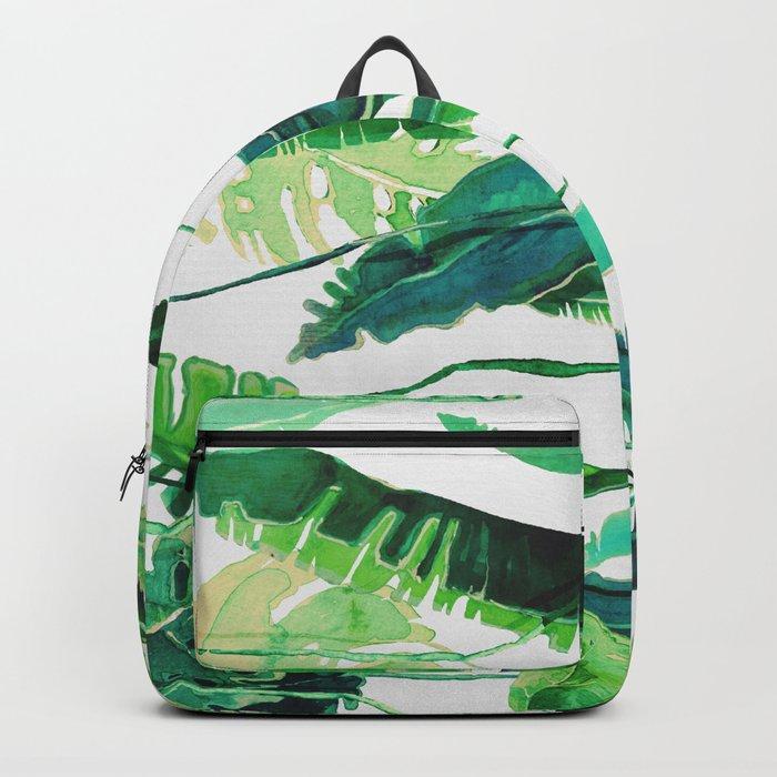 tropical compilation horiz. Backpack