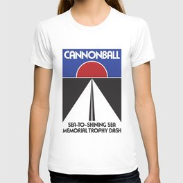 Cannonball Run logo T-shirt