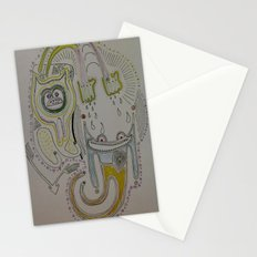 I don't care if the weatherman says it's going to rain Stationery Cards