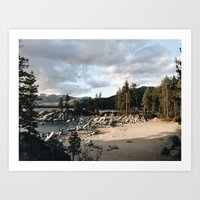 Quiet Harbors Art Print